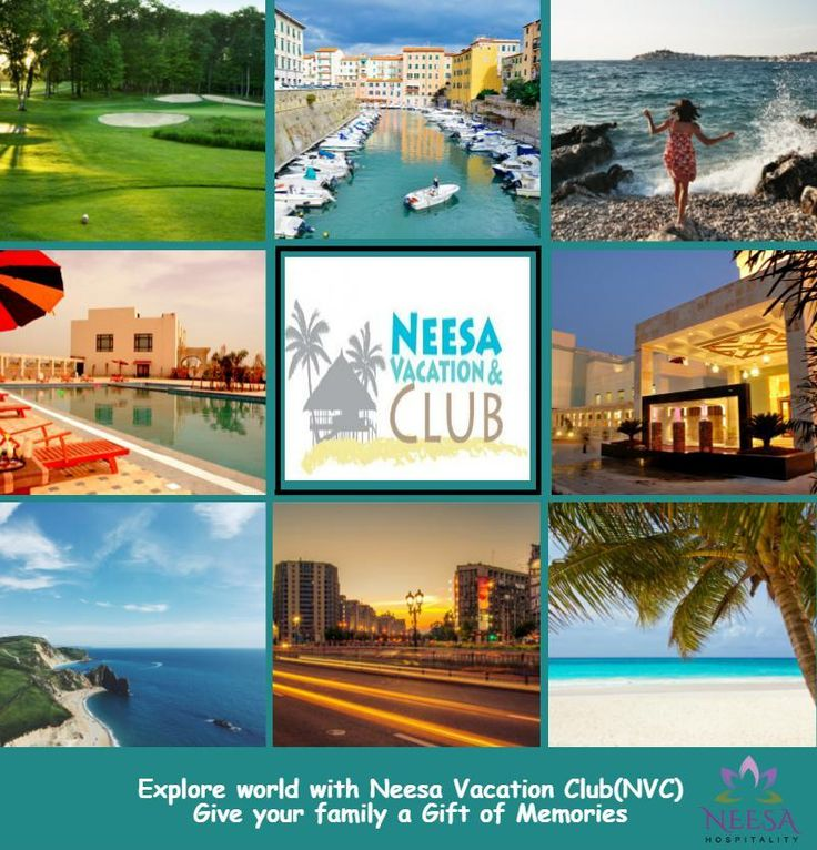 """""""Take advantage of Bonus Points and Benefit Points, Late Break Special, Short Breaks. Plus, you can also share your Neesa Vacation Club experience with the option of lending, renting or transferring your club points with family and friends...http://neesahospitality.com/NVC_holidays"""