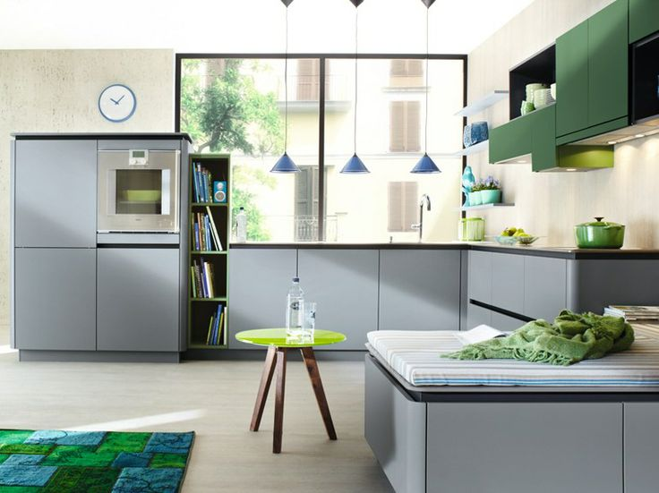 Grey And Green Kitchen 164 best kitchen - green images on pinterest | home, architecture