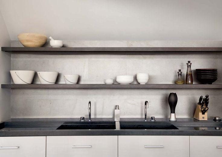 Piastrelle ceramiche marmo bianco in grandi formati: I Bianchi di Rex