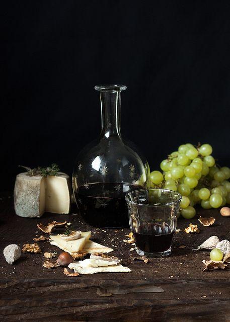 Uvas y Queso....saben a beso.. | Flickr: Intercambio de fotos