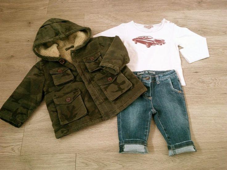 Per il #weekend largo al #bimbo #vintage-chic con outfit #Babe&Tess e #EmileetIda, in saldo online su www.cocochic.it http://www.cocochic.it/it/bambino/68-t-shirt-stampa-automobile.html http://www.cocochic.it/it/bambino/271-jeans-denim-.html http://www.cocochic.it/it/bambino/162-parka-velluto-camouflage.html