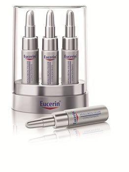 Eucerin Hyaluron-Filler Concentrate Eucerin Hyaluron-Filler Concentrate Concentrated formula for anti-wrinkle treatment for all skin types An advanced concentrated serum to actively reduce the depth of all wrinkles. Eucerin Hyaluron-Fi http://www.MightGet.com/january-2017-12/eucerin-hyaluron-filler-concentrate.asp