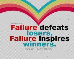 Failure inspires too.