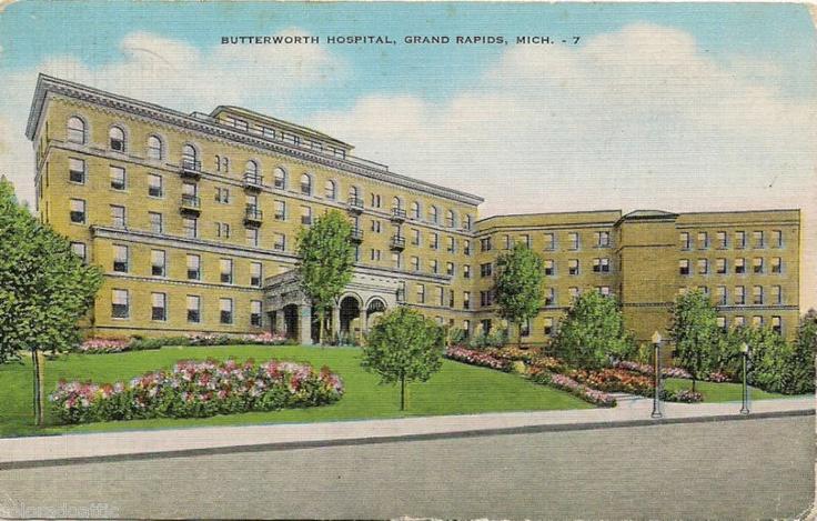 1953 butterworth hospital grand rapids mi bostwick ave
