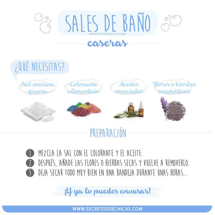 SALES DE BAÑO CASERAS
