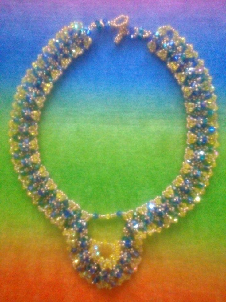 Crystal Diamonds Necklace