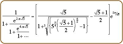 Ramanujan's continued fraction