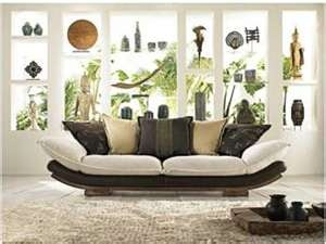 Modern Asian Living Room.