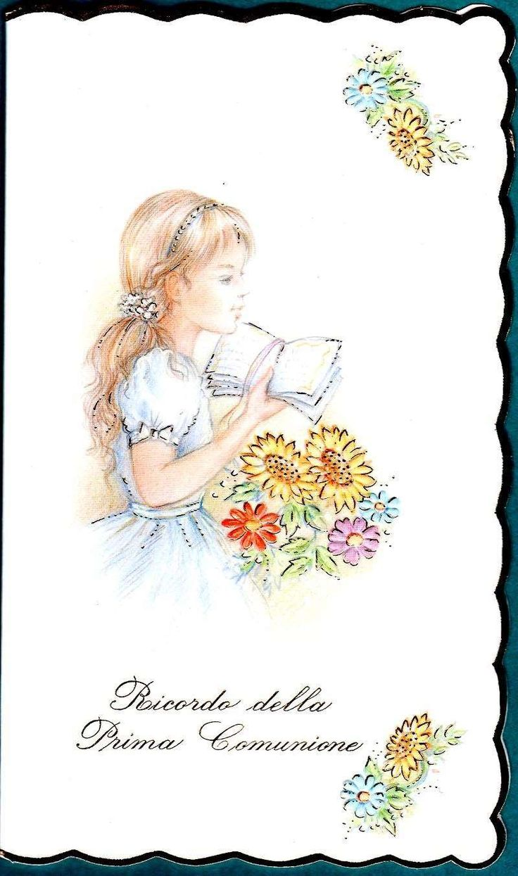 Fabuleux 17 best Prima comunione images on Pinterest | First communion  SO51