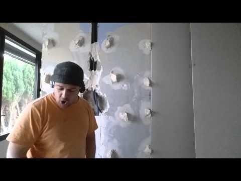 Plaquer Un Mur En Ba13 Sans Rail Lorsque L On Veut Renover Un