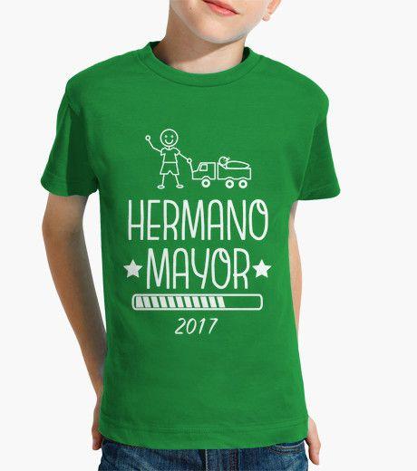 Camiseta Verde Hermano Mayor 2017