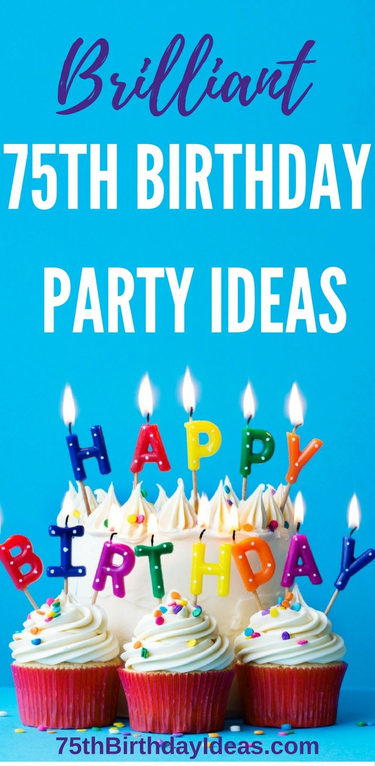 25 best 75th birthday decorations ideas on pinterest for 75th birthday decoration ideas