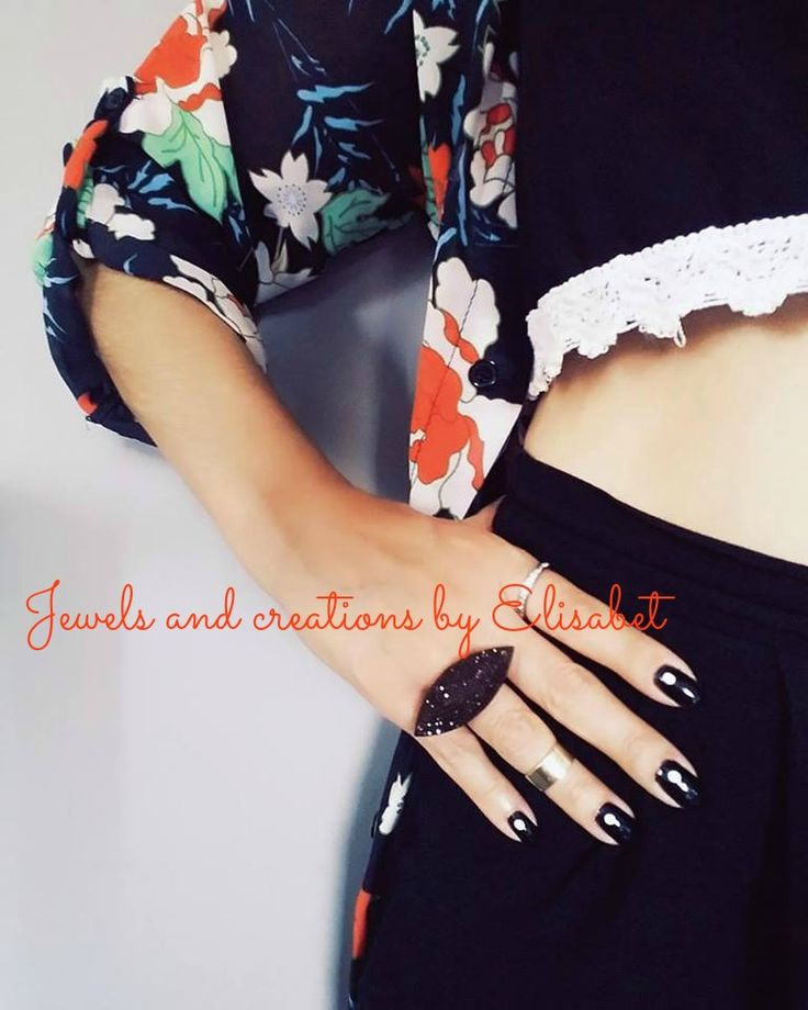 #boho #jewels #bohemian #bohemianchic #black #rings #eye #style #newtrend #outfit