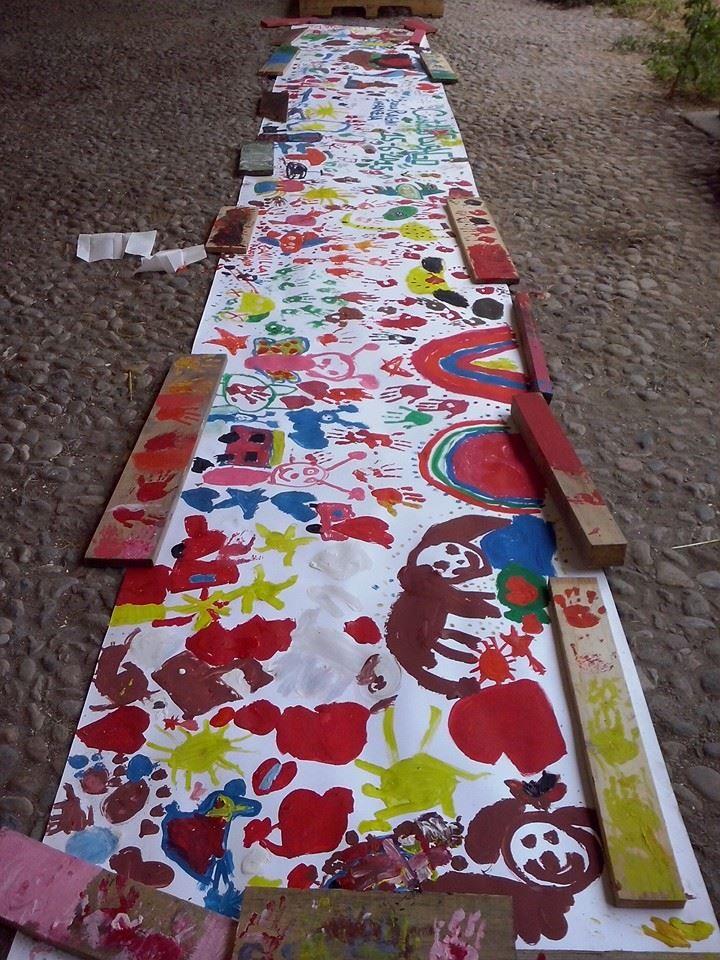 PITTURA.IN.MOVIMENTO Laboratorio di pittura a cura di Linda Brindisi