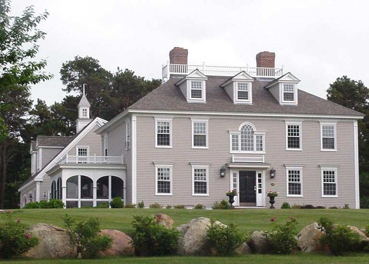 Brewster federal house classic colonial homes inc for Classic home designs inc