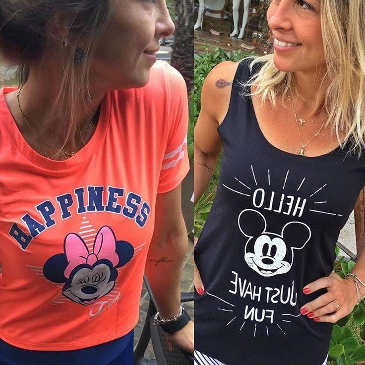 Muitas e muitas blusinhas Disney Alto Giro em nossa loja!! Looks fitness e casuais elas combinam perfeitamente.   ____________________________________________ Nossos canais de compra: .  http://ift.tt/1PcILpP Whatsapp: 41 99144-4587  Loja virtual no face: Acesse missfitbrasilhf  USA Store: www.fitzee.biz. .  Worldwide shipping  Parcele em até 4x sem juros via Pagseguro  15% de desconto para pagamento a vista via depósito/transferência. .  Frete grátis para todo Brasil nas compras acima de R$…