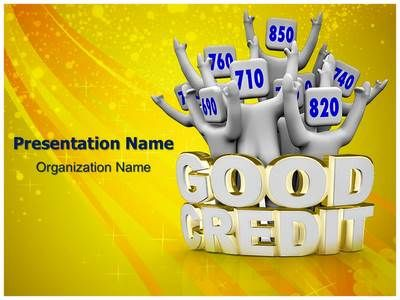Check out our professionally designed Good Credit #Rating #PPT #template. Download our Good Credit Rating PowerPoint theme and background affordably now. This royalty free Good Credit Rating #Powerpoint #template lets you edit text and values and is being used very aptly for Good Credit Rating, #bank, #Banking, #bankrupt, #bankruptcy, broke, #bureau, #Business and such #PowerPoint #presentations.