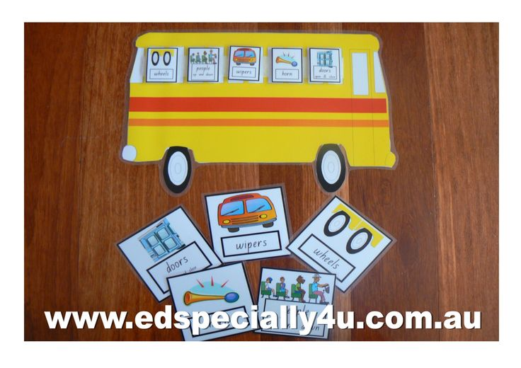 The Wheels on the Bus-a motivating and hands-on learning resource for your music/singing, literacy and numeracy programs.  Visit www.edspecially4u.com.au to see all of our visual singing resources