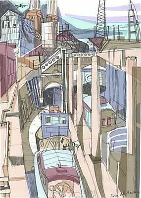 London Prints - Battersea Power Station