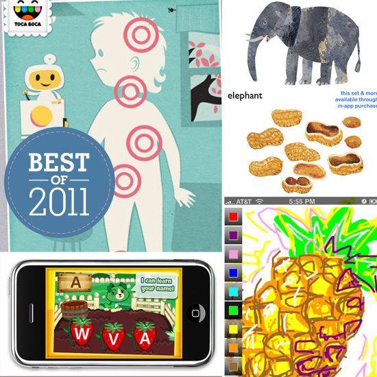 BEST OF 2011: THE 20 BEST APPS FOR KIDS: Kids 2011, Best App For Kids, Kids Stuff, Apps, 20 App, Baby, 2011 Photo, Kids App, 2011 App