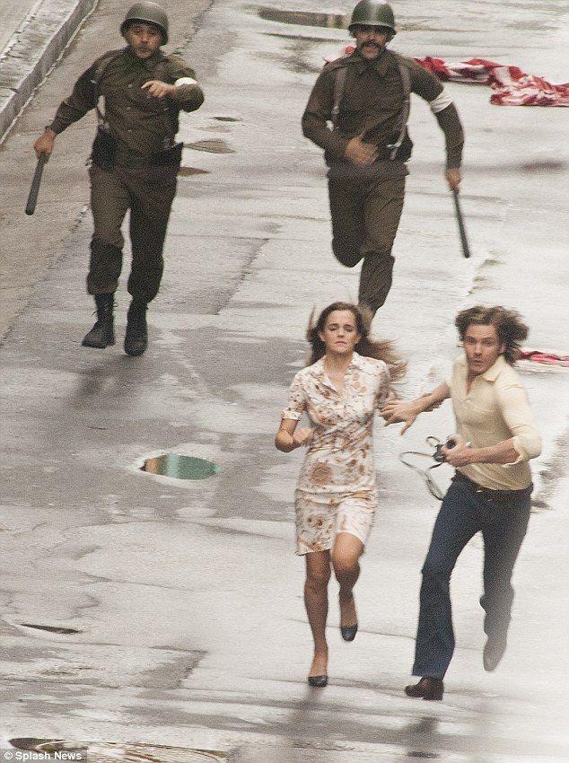 Oscar-winning director: Behind the camera is Florian Gallenberger, whose short movie Quier...