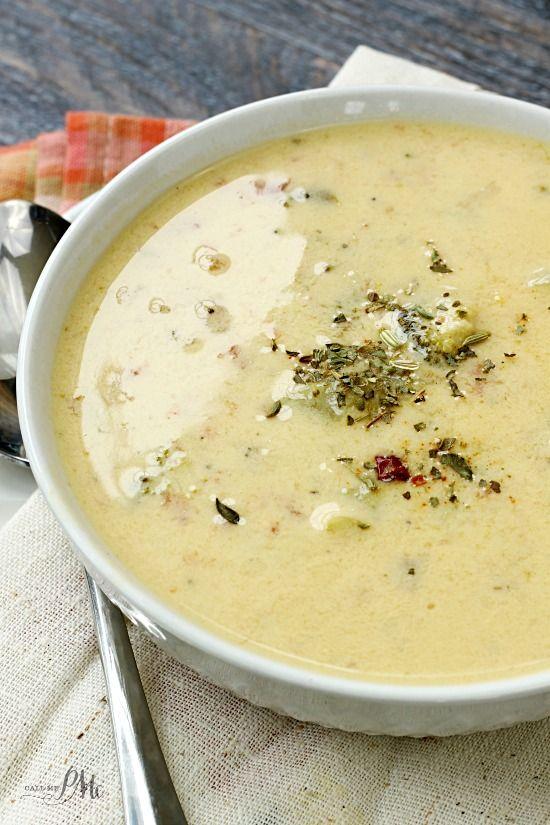 Creamy Spicy Broccoli Soup