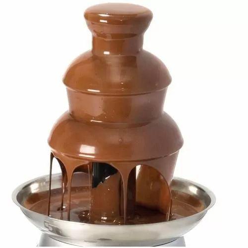 Fonte Cascata De Chocolate Fondie 110v - R$ 199,00