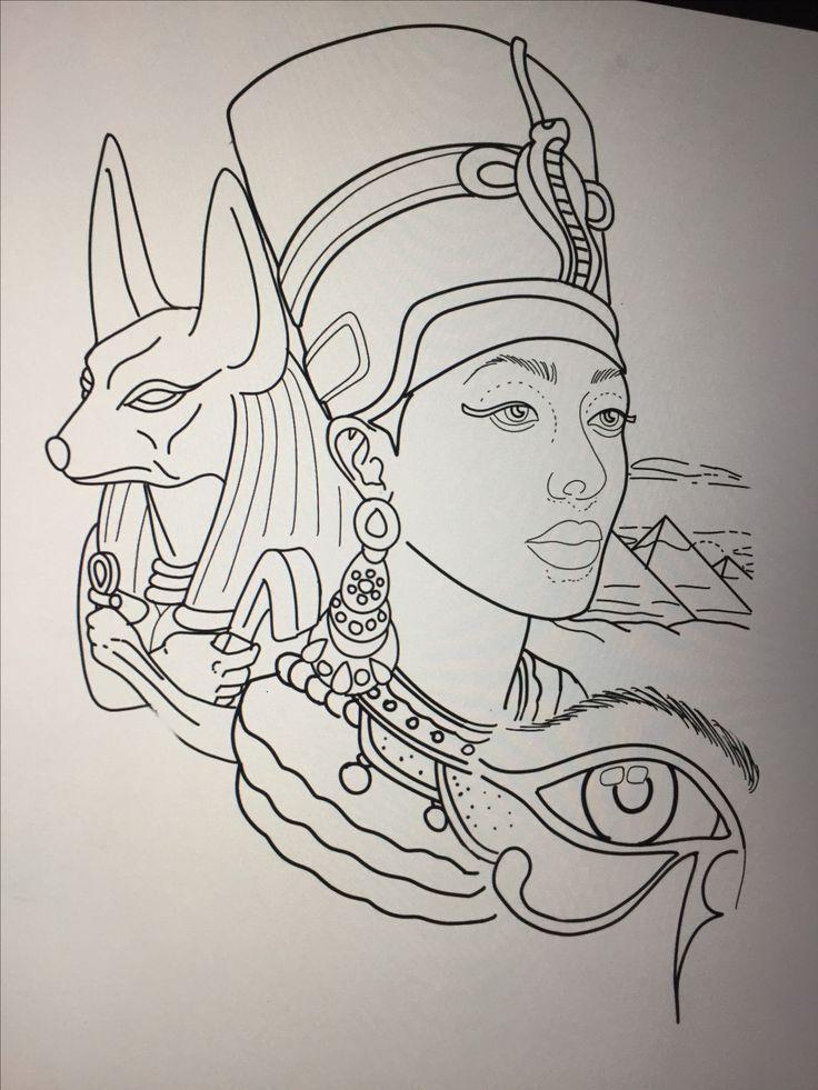 Resultado de imagen de egyptian tattoo designs