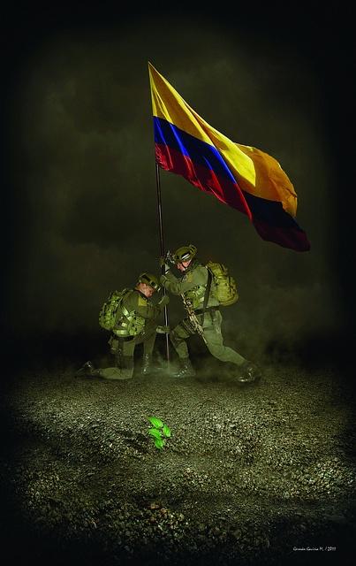 Nuestros héroes dan lo mejor de sí todos los días para que los colombianos podamos vivir en paz y tranquilidad.