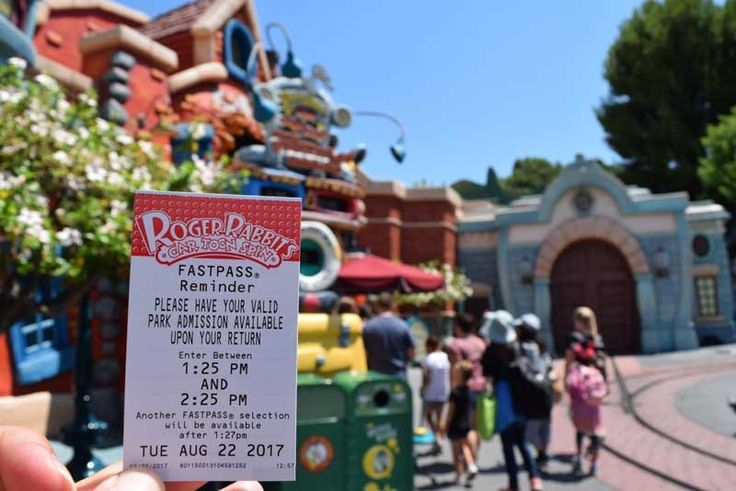 Guide To The Disneyland Fastpass Service Disneyland