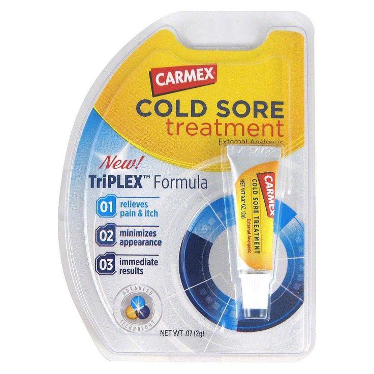 Carmex Cold Sore Treatment Gel - 0.07 oz #AllAboutColdSores