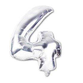 Air-Filled Foil Balloon - Number 4