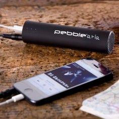 Veho Pebble Aria - Mobiele noodaccu met luidspreker Wintersportartikelen Origineel cadeau voor mannen