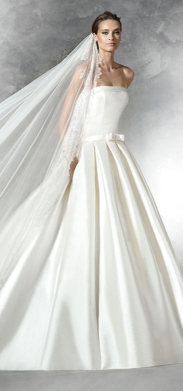 Best 25 nautical bridesmaids gowns ideas on pinterest 50s dress pronovias 2016 bridal collection part 2 pronovias bridalpronovias wedding dresses2016 ombrellifo Image collections