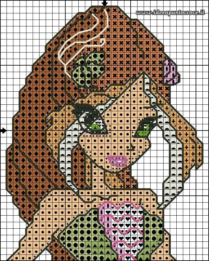 schema Winx Flora 40 punti