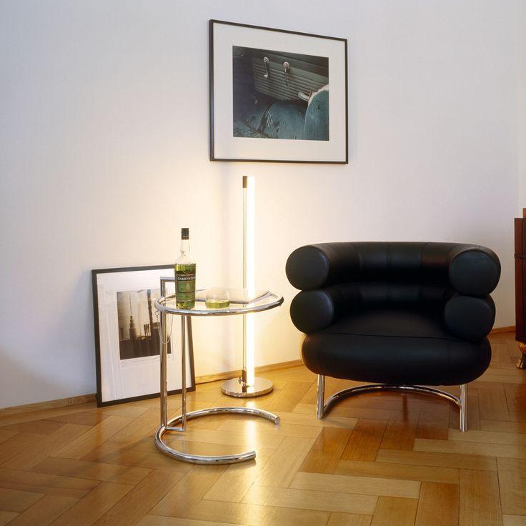 Eileen Gray E1027 Side Table Bibendum Chair