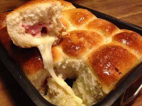 il danubio sofficissimo con lievito madre sono delle morbidissime palle di pasta di pane farcite con quello che più ci piace per una cena sfiziosa e veloce