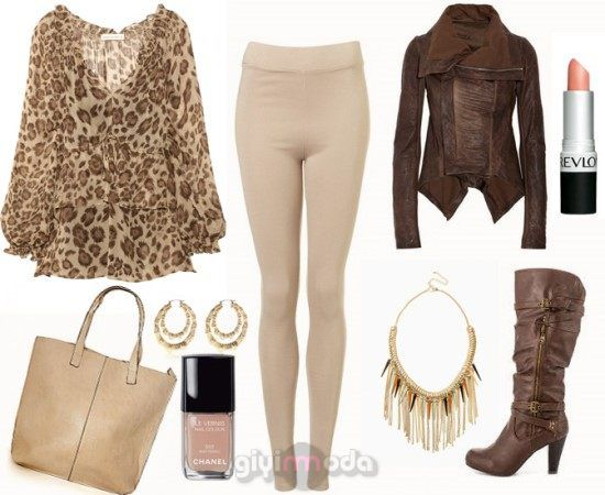 #camel leggings and bag combinations =>http://www.giyimvemoda.com/devetuyu-camel-renk-kombinleri.html