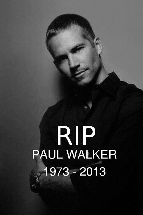 Paul Walker. Descanza en paz!