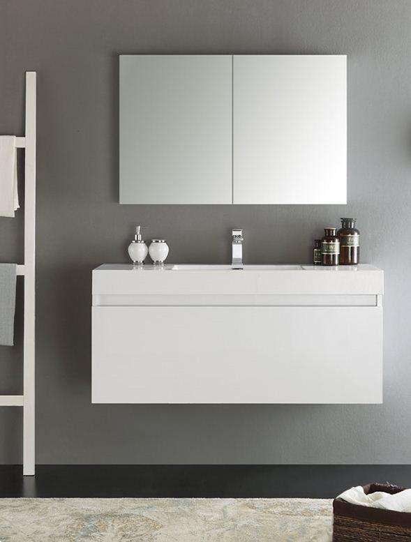 29+ Wall mounted bathroom vanity table diy