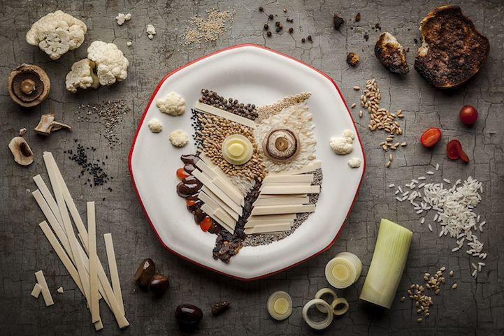 Beautifully Intricate Food Illustrations by Anna Keville Joyce
