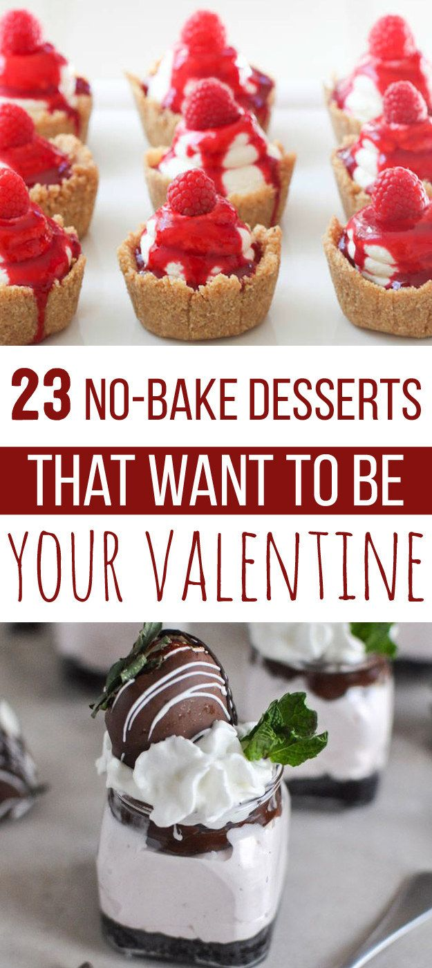 23 No-Bake Desserts That Want To Be Your Valentine http://www.buzzfeed.com/christinebyrne/no-bake-valentines?bffb&utm_term=4ldqphi#.pvVozWdan