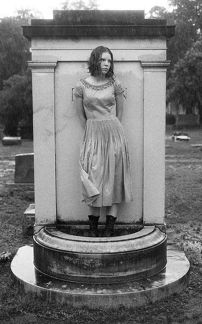 The Living Statue, Bonaventure Cemetery