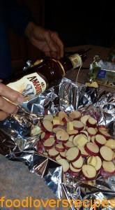 Ongelooflike Lekker Patats:  Amarula, bruin suiker en botter, wat meer kan jy vra!  Sweet potatoes with Amarula brown sugar and butter....  what more could you ask for?