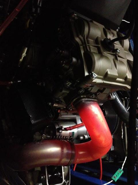Racing Cafè: Photo #377 - Red - dyno testing a Ducati Desmo Valved V twin.