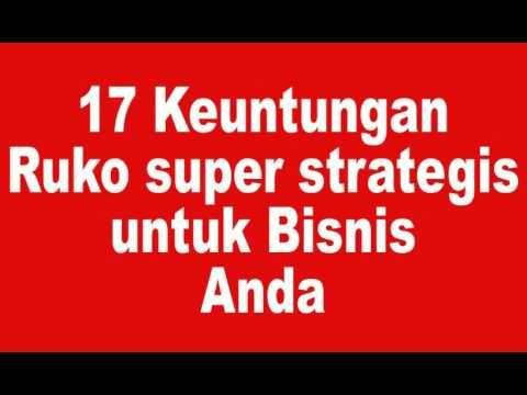 17 Keuntungan Ruko super strategis untuk BerBisnis | 087870006513