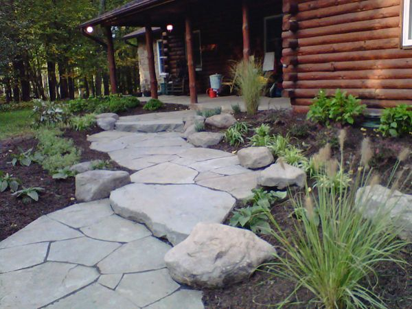 Landscape #boulders are an important part of your outdoor decoration for the exterior on your property! Repin and leave a comment. | Fairfax, VA | Irwin Stone