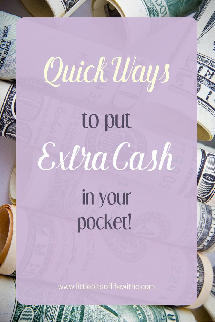 Need a bit of extra money? Looking to make money on the side? Work from home? Check out these quick tips to start you out!