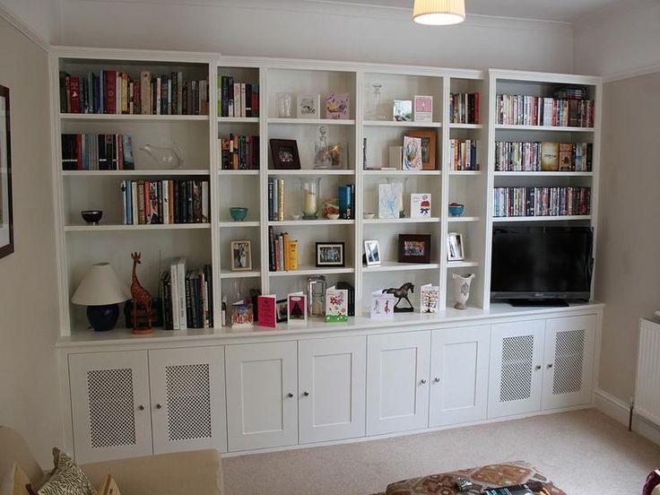 The 25 best custom bookshelves ideas on pinterest for Custom bookcase plans