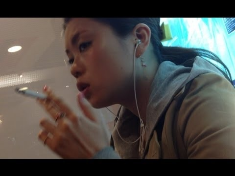 Smoking video asian